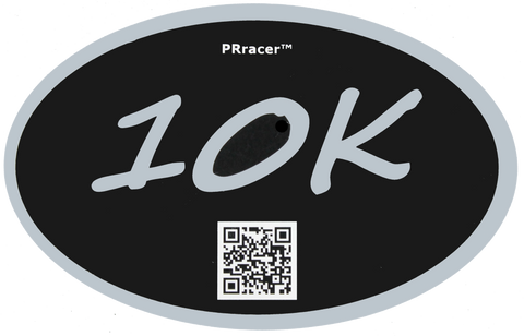 10K Silver Black Decal