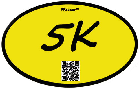 5K Yellow Decal