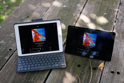iPad and Android tablet