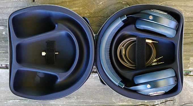 Focal Celestee headphones in case