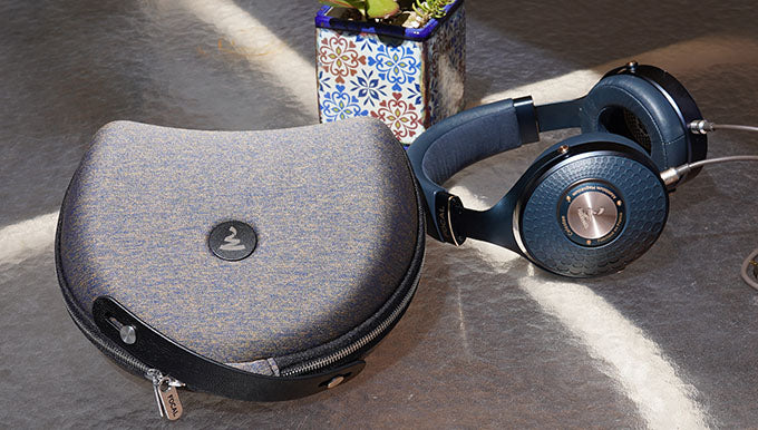 Focal Celestee headphones with case