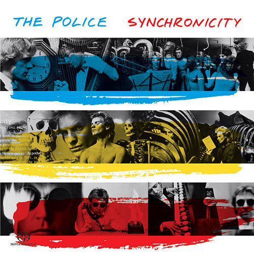 Police: Synchronicity cover