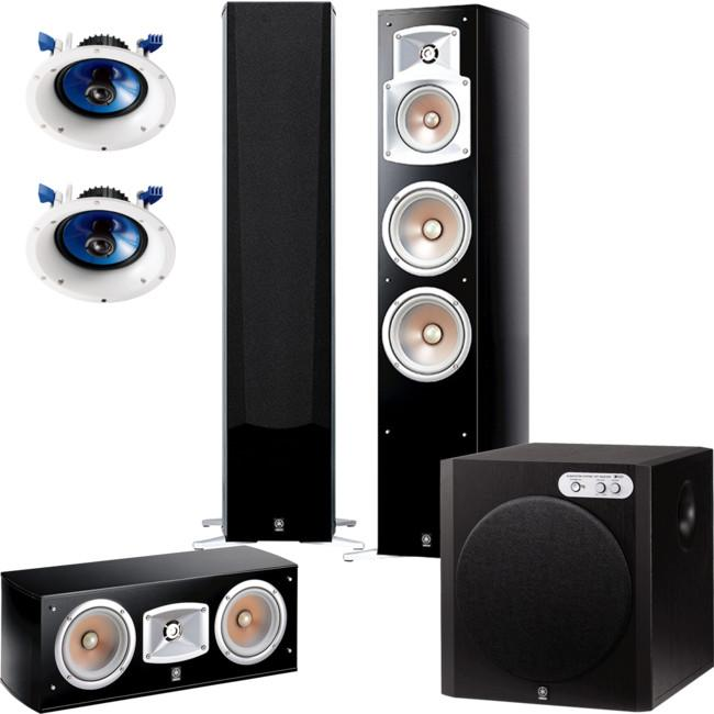 YAMAHA Cinemapack NS555 Series 5.1 Speaker Package