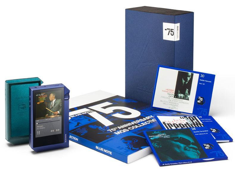 Astell & Kern AK240 Blue Note Digital Audio Player