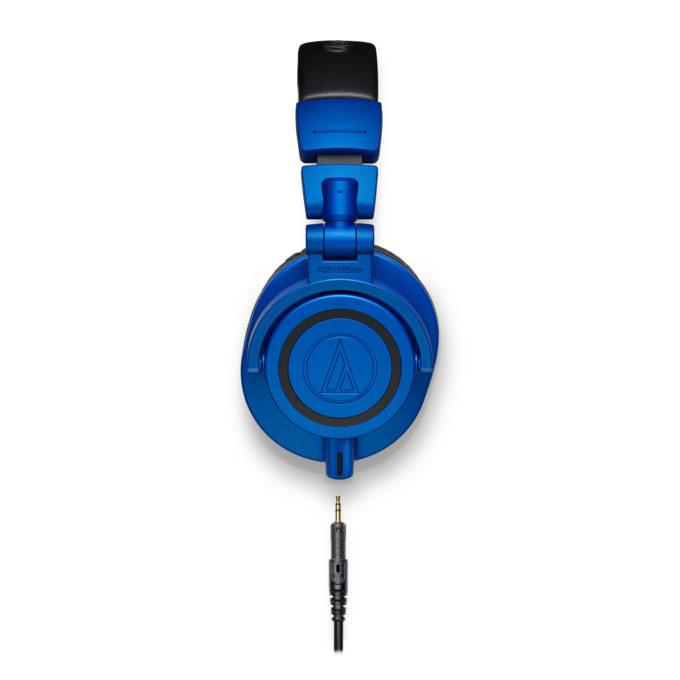 Audio Technica ATH-M50x Black Blue Limited Edition Professional Headphones
