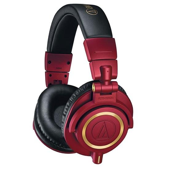 Audio Technica ATH-M50x Red Limited Edition Professional Headphones
