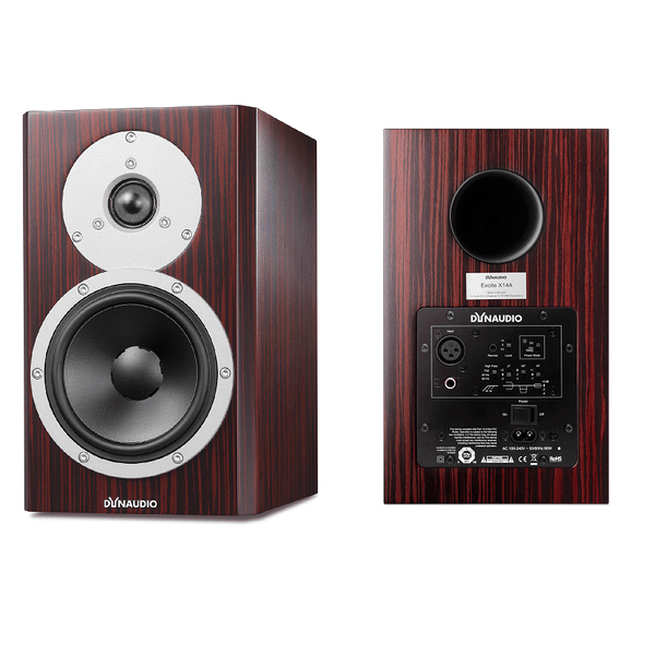 Dynaudio X14A Active Bookshelf Speakers, Includes Schiit SYS & RCA Cables