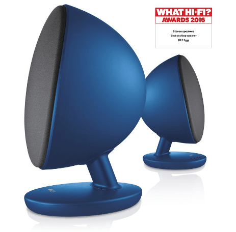 KEF The Egg Bluetooth Bookshelf Speakers