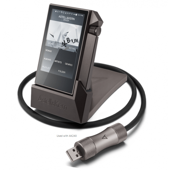 Astell & Kern PEM12 2nd Generation AK240 Cradle Dock