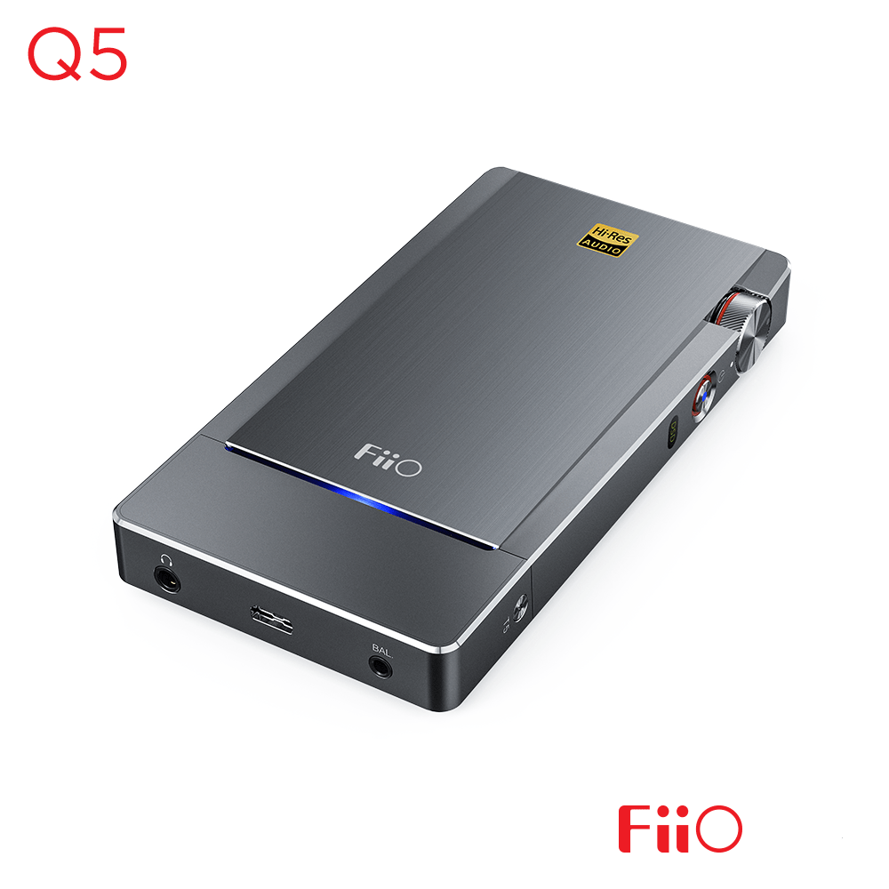 FiiO Q5 Portable DAC & Headphone Amplifier - DEMO