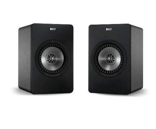 KEF X300A Active Bookshelf Speakers