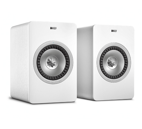 KEF X300A Wireless Active Bookshelf Speakers