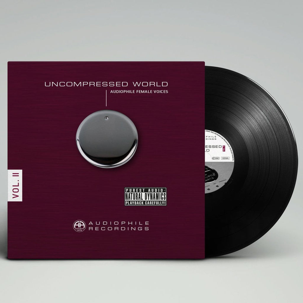 Accustic Arts Uncompressed Audiophile Recordings Vinyl