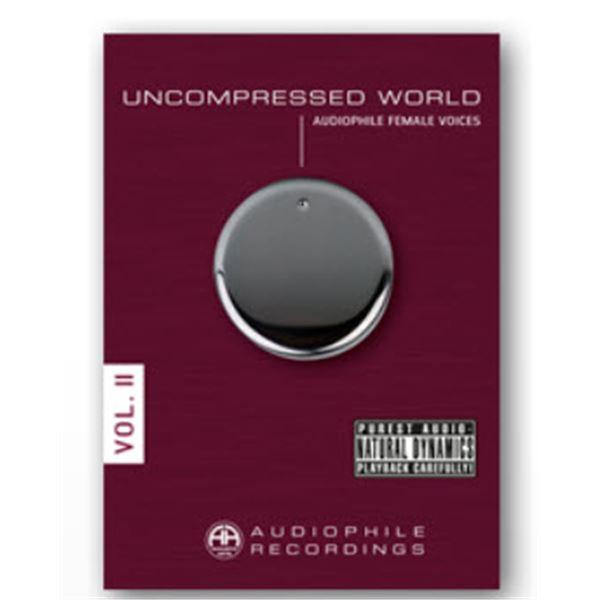 Accustic Arts Uncompressed Audiophile Recordings CD