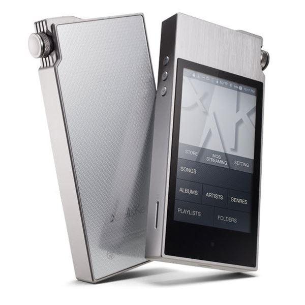 Astell & Kern AK120 II Digital Audio Player Silver Stone