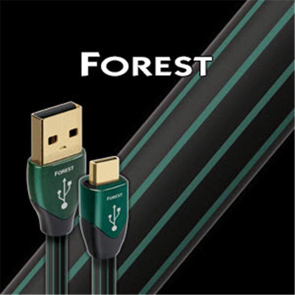 AudioQuest Forest Type A to Micro USB Cable 1.5M