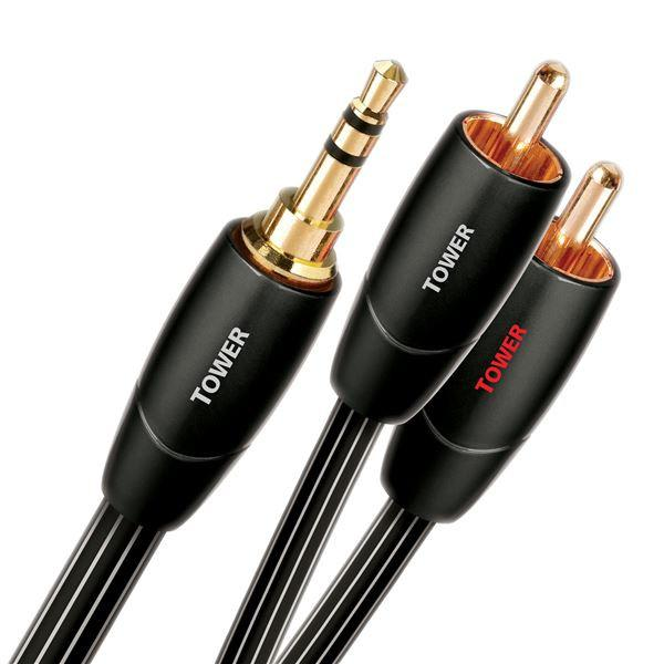 Audioquest Tower RCA to Mini -1.5M