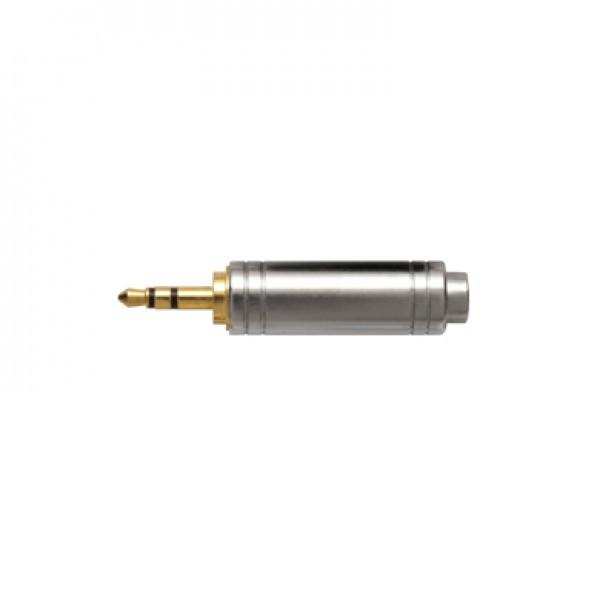 Audio-Technica AT3C19S 6.5mm (F) to Stereo 3.5mm (M) Adapter