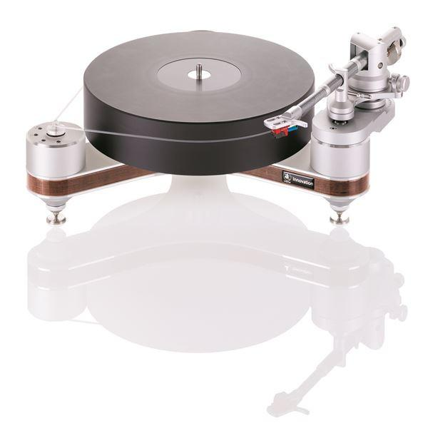 Clear Audio Innovation Compact High End Turntable (Wood Finish)