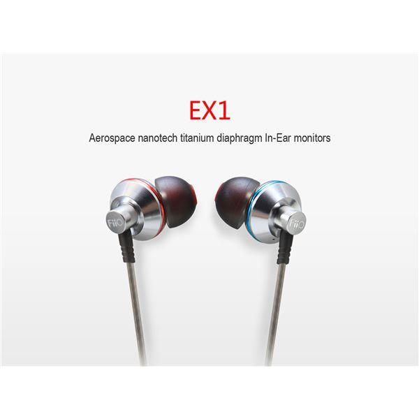 FiiO EX1 Titanium Diaphragm In Ear Monitors