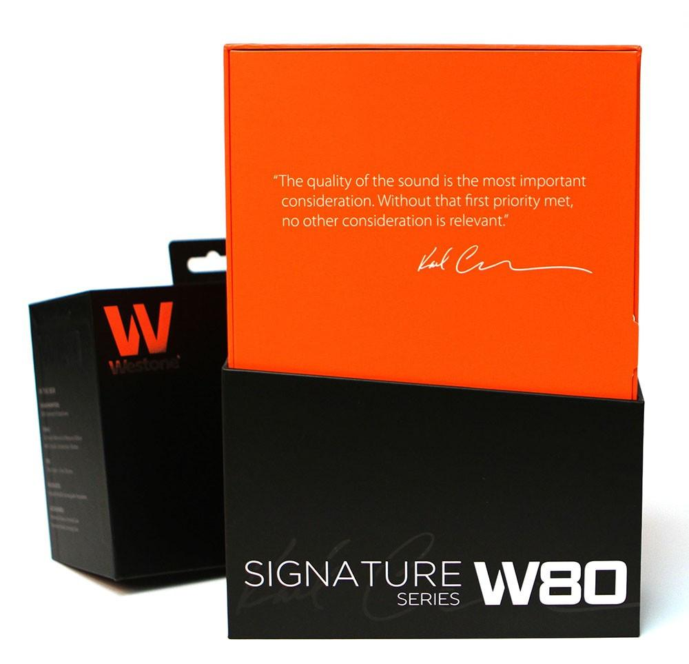 Westone W80 Signature Series In-Ear Monitors