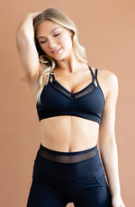 Nova Bra Top- Black
