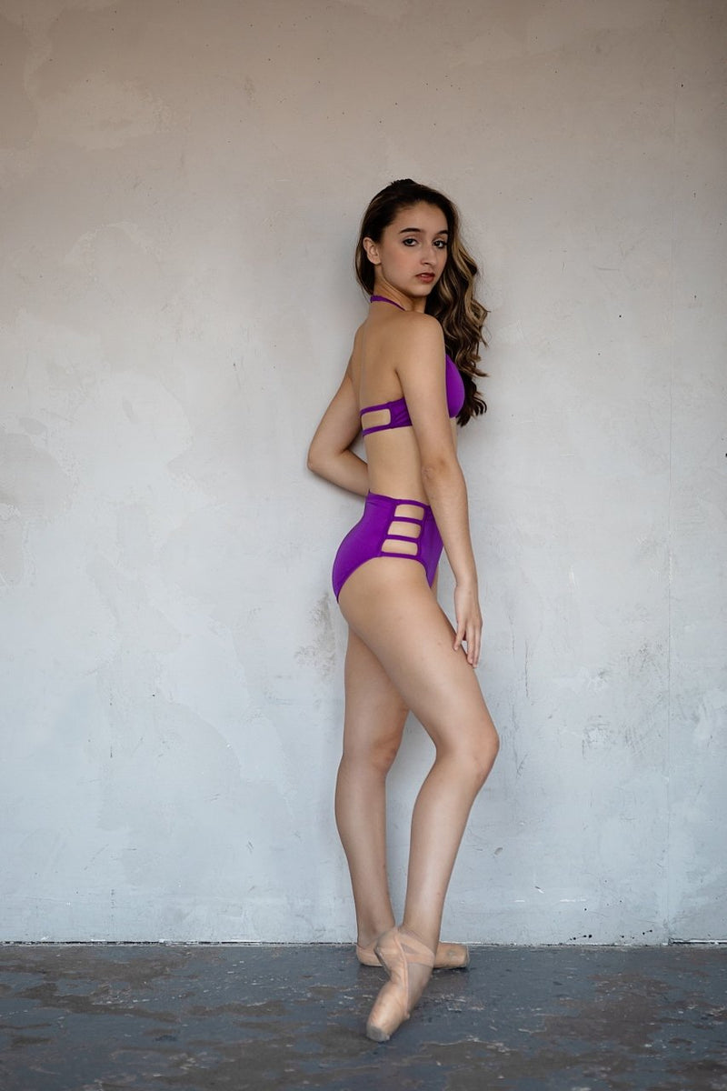 Brief- High Waisted with Straps