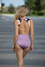 Lucy Leotard- Lilac Floral