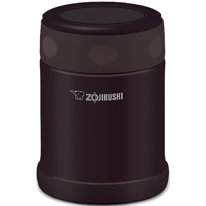 Zojirushi Stainless Steel Food Jar 11.8 Oz (0.35 L) Dark Brown