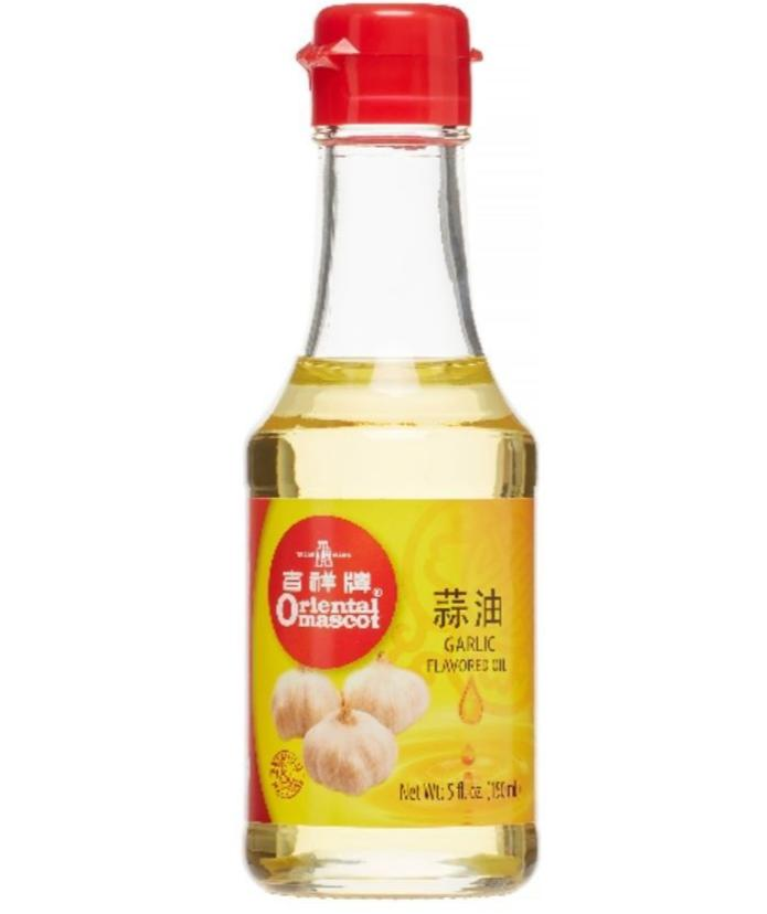 Oriental Mascot Garlic Flavored Oil 5FL Oz (150mL) - 吉祥牌蒜油