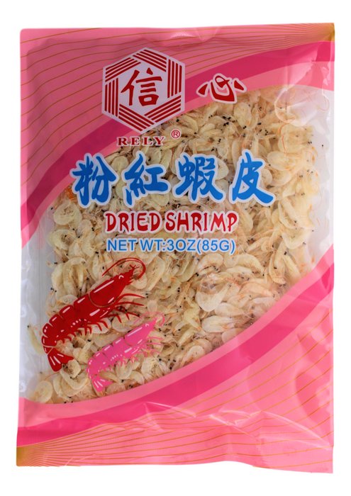 Rely Dried Shrimp 3 Oz (85 g) -信心分红虾皮