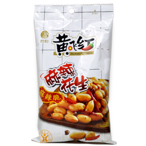 Huang Fei Hong Spicy Peanuts 3.9 Oz (110g )