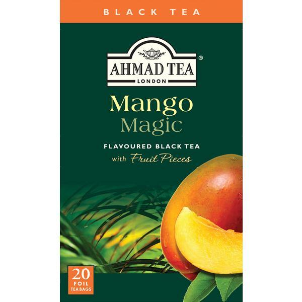 Ahmad Tea Mango Magic Black Tea 20 Tea Bags 1.40 Oz (40 g)