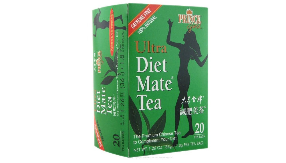 Prince Gold Ultra Diet Mate Tea 20 Tea Bags 1.26 Oz (36 g)