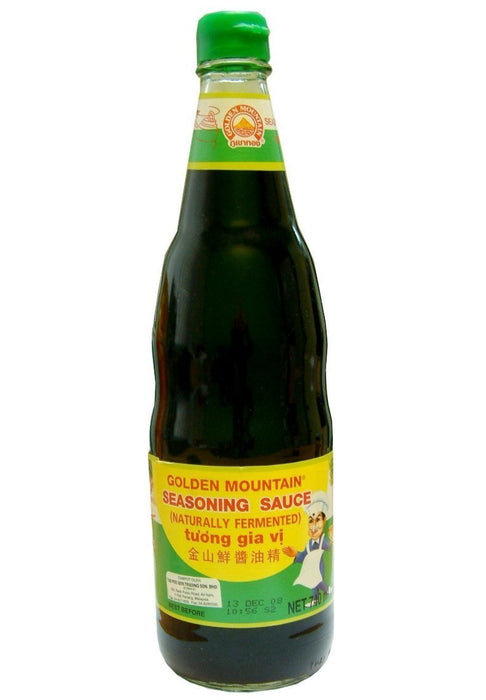 Golden Mountain Seasoning Sauce 20 FL Oz (600 mL) - Soybean Sauce (Tuong Gia Vi)