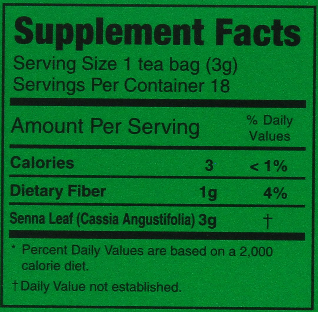 Triple Leaves Extra Strength Dieters' Nutra-Slim Tea 20 Tea Bags 1.76 Oz (50 g)