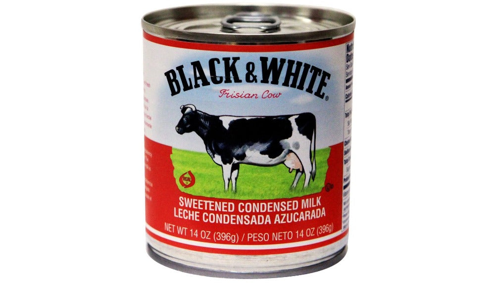 Black & White Sweetened Condensed Filled Milk 14 Oz (396 g)