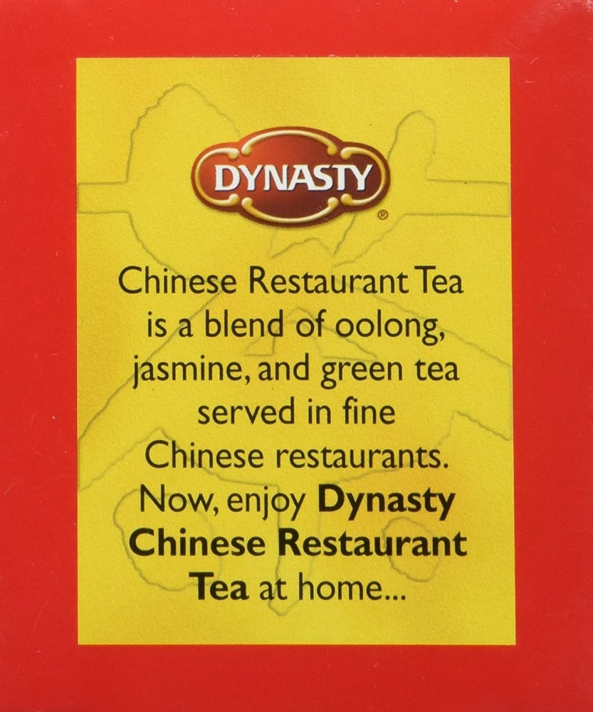 Dynasty 100% Natural Chinese Restaurant Tea 16 Tea Bags 1.13 Oz (32 g)