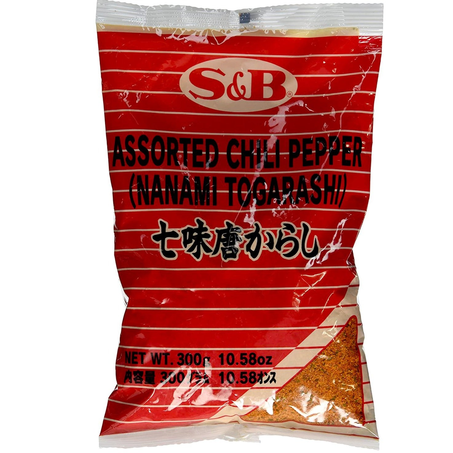 S&B 7 Assorted Chili Pepper | Pepper Spice Mix (Nanami / Shichimi Togarashi) 10.58 Oz (300 g)