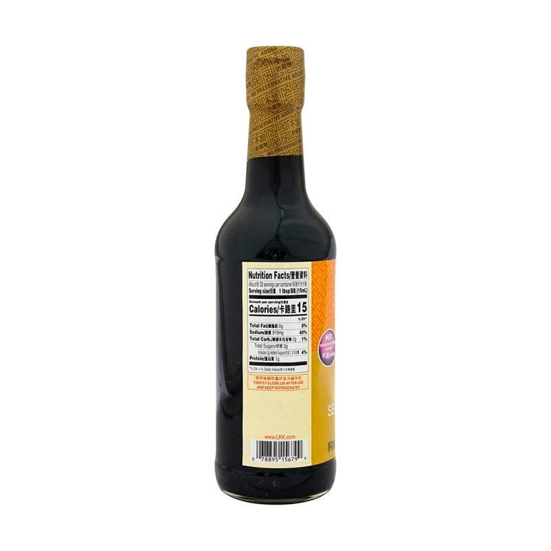 LEE KUM KEE Seafood Flavored Soy Sauce 16.9 FL Oz (500 mL) -李锦记海鲜酱油 16.9 FL Oz