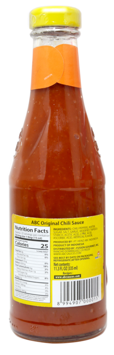 ABC Original Chili Sauce 11.3 FL Oz (335 mL)