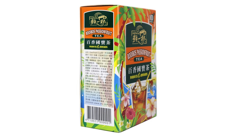 OneFreshCup Rooibos Passionfruit Tea 10 Packs X 28 g (280 g)