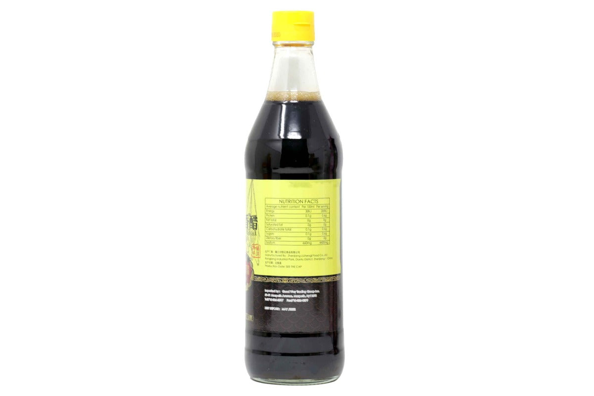 Liu Heng Ji Chinkiang Black Vinegar 500 mL (16.9 Oz) - 刘恒记镇江香醋