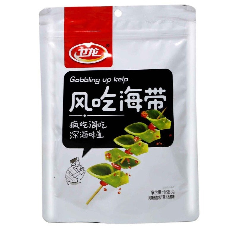 WEILONG Ready to Eat Flavored Kelp Snack (168) - 卫龙风吃海带