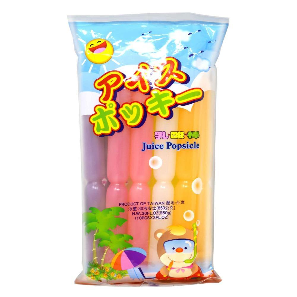 Juice Popsicle 30 FL Oz (850 g) - 台湾乳酸棒