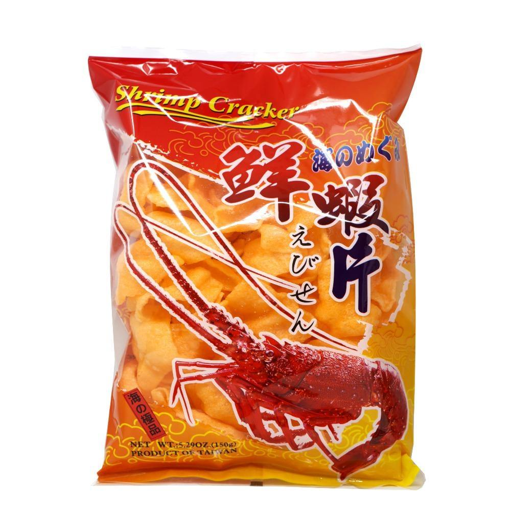 Y.C Prawn Original Flavored Crackers 5.29 Oz (150 g) - 原味味鲜虾片 150 g