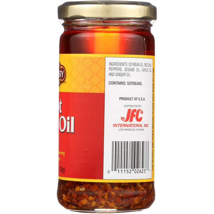 Dynasty Asian Hot Chili Oil 5.5 Oz (156 g)