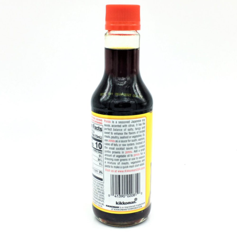 KIKKOMAN Ponzu Citrus Seasoned Dressing and Sauce - Ponzu Sauce 10FL Oz (296 mL)