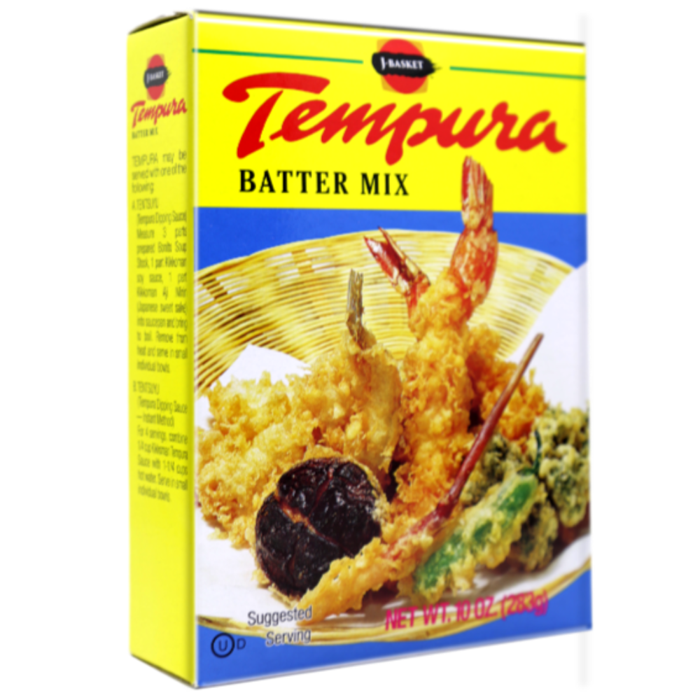 J-Basket Tempura Batter Mix 10 Oz (283 g)