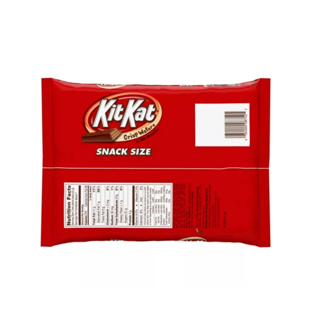 KitKat Crisp Wafers in Milk Chocolate Snack Size 10.78 Oz (305 g)